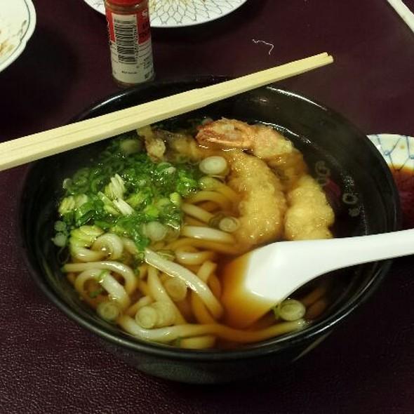 Tempura Udon @ Sugano Japanese Restaurant