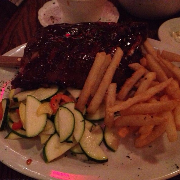 Baby Back Ribs @ Back Behind Saloon Restaurant