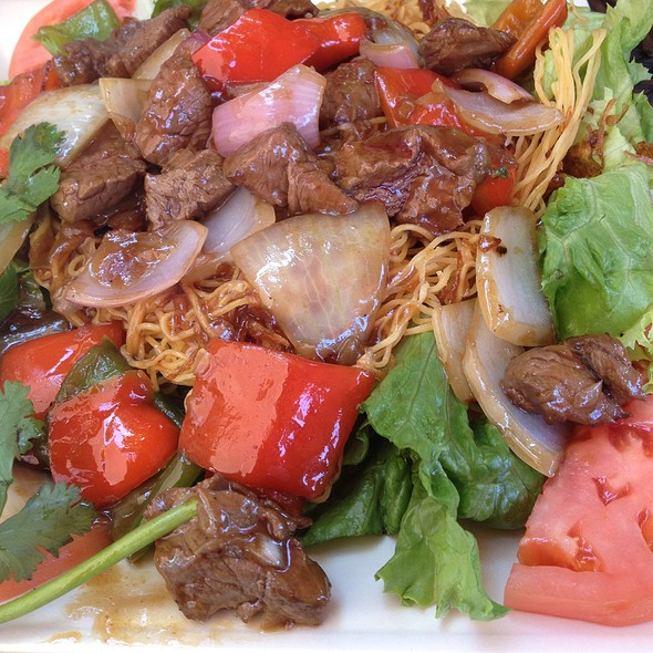 Beef Noodles @ Mon Ami Cafe