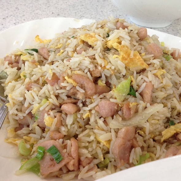 Salted Fish Fried Rice @ Tasty Garden