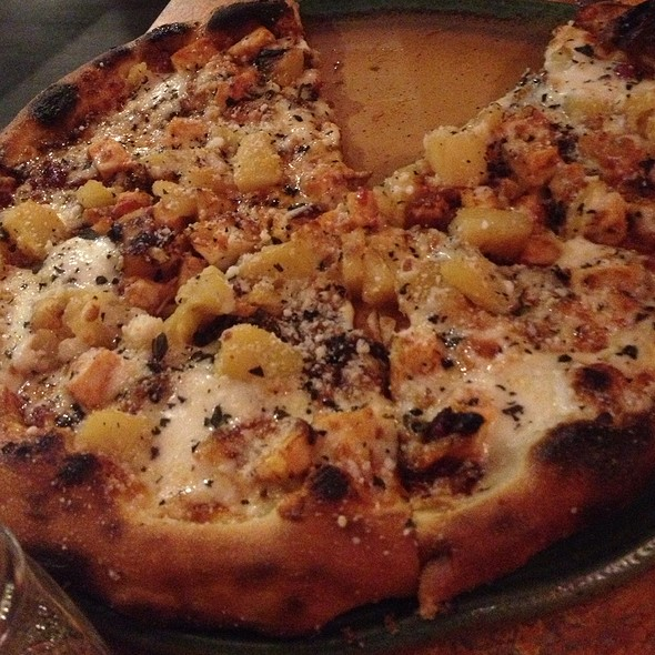 Bbq Chicken Pizza With Pineapple @ SPIN! Neapolitan Pizza