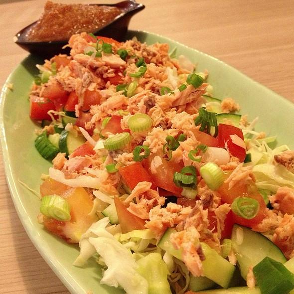 Salmon  Salad @ Lenas
