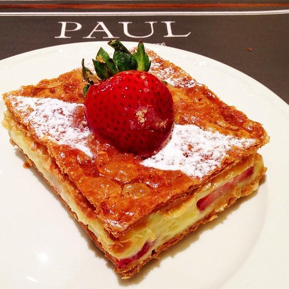 Miilefeuille Fraises @ PAUL