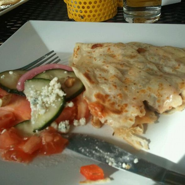 Veggie Crepes @ Crepes A Latte