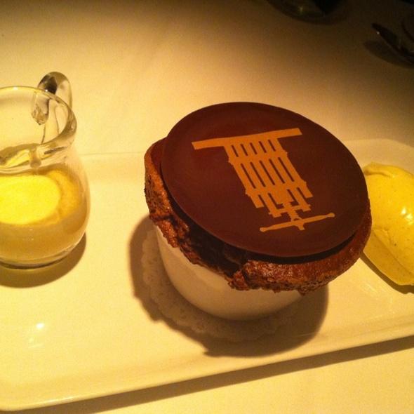 Chocolate Souffle @ Press