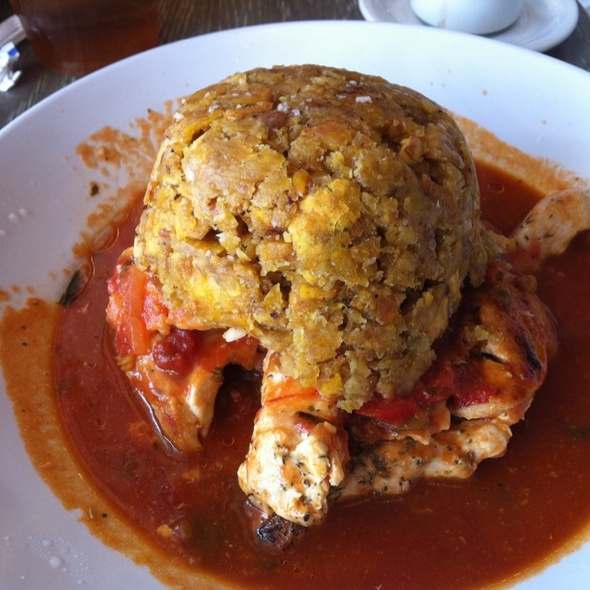 Mofongo with Chicken @ Jimmy'z Kitchen Wynwood