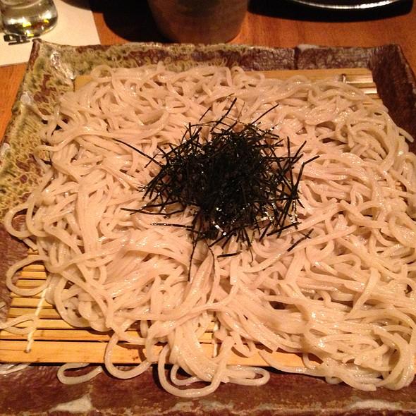 Homemade Nihachi Soba
