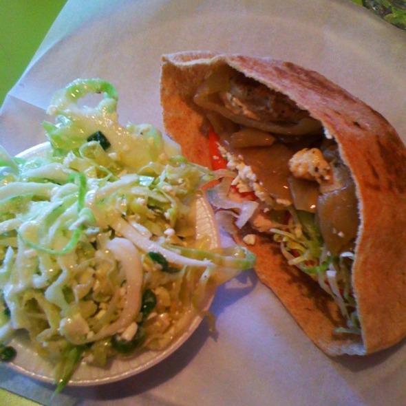 Zoes Kitchen Greek Chicken Pita zoe's kitchen menu - houston, tx - foodspotting