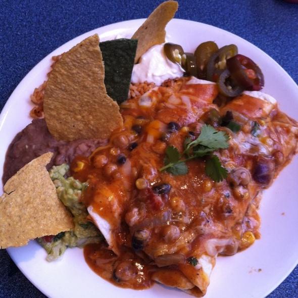 Chicken Enchiladas @ La Fiesta Cafe Ltd