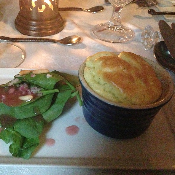 Chèvre And Fresh Dill Soufflé @ Stone Soup Cottage