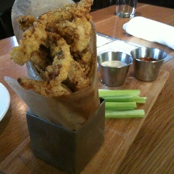 Fried Pig Ears With Hot Sauce @ Euclid Hall Bar & Kitchen