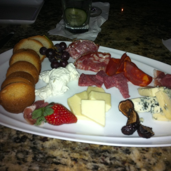 Cheese and Meat Plate @ The Vine Restaurant and Wine Bar