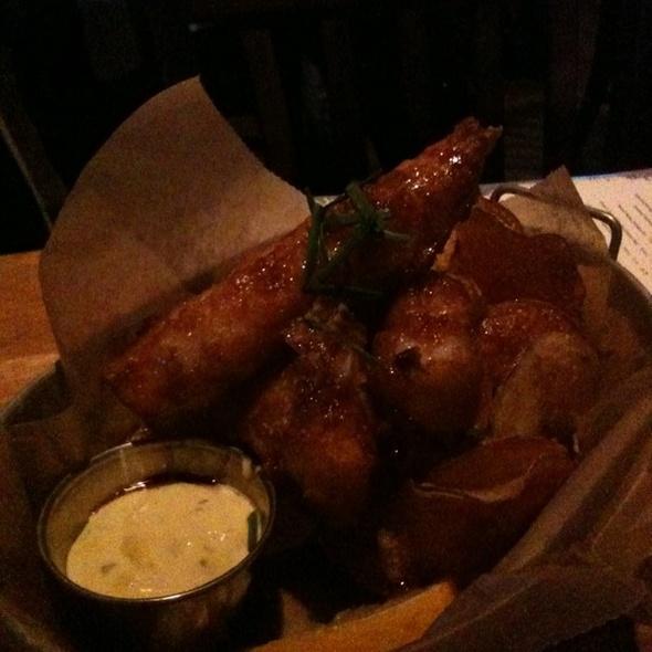 Fish and Chips @ Euclid Hall Bar & Kitchen