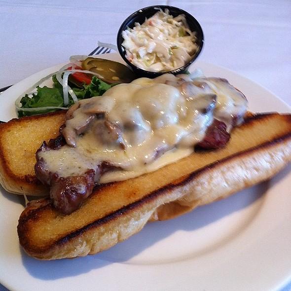 Medium Rare Cuban Steak Sandwich. , , , , @ Waves