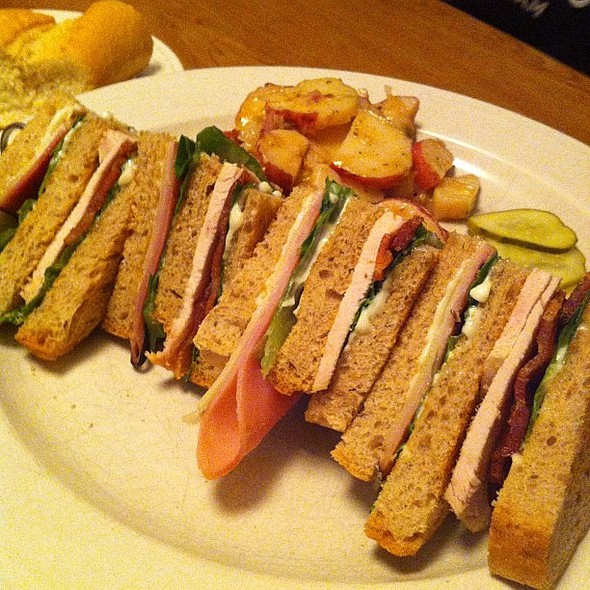 Club Sandwich. @peebles01 , , , , @ Jumps Restaurant