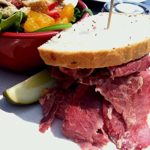 Corned Beef on Rye @ Lexi's on Third