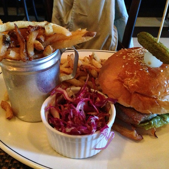 Ahi Tuna Sandwich W/ Fries - Museum Tavern, Toronto, ON