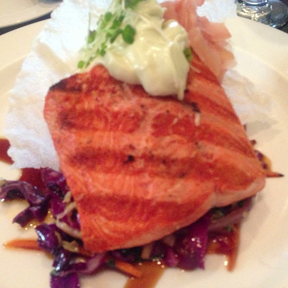 Red Salmon - Sacks Cafe and Restaurant, Anchorage, AK