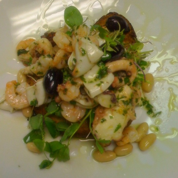 Seafood Salad @ Vittorio's Restaurant and Wine bar