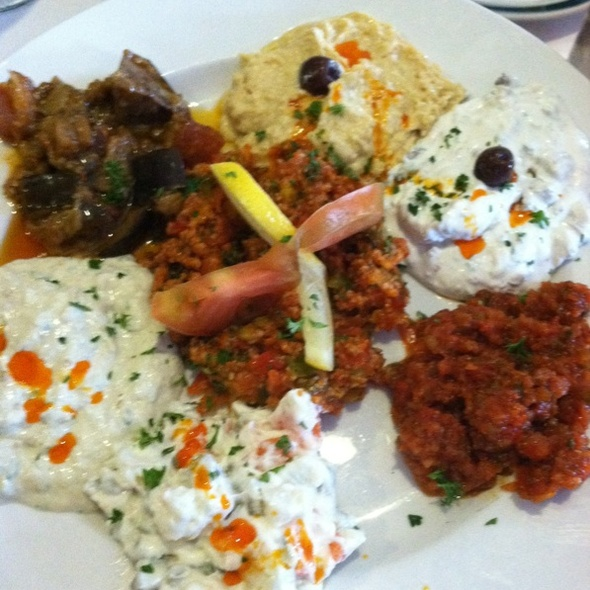 Meze Platter @ Turquoise Grill