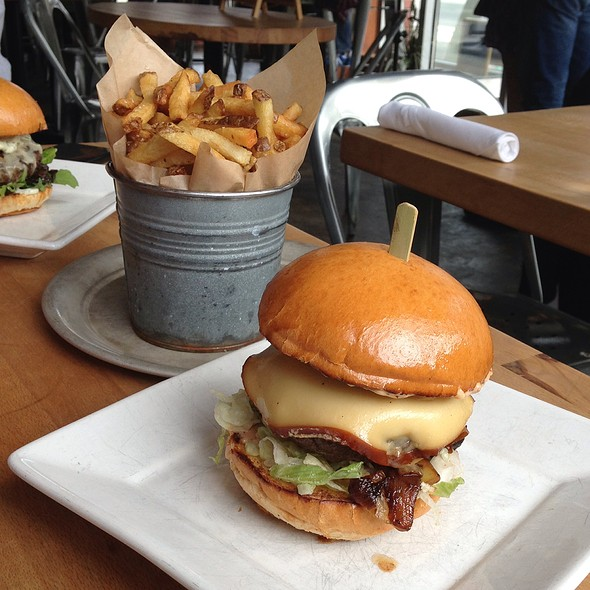The Jackson Burger