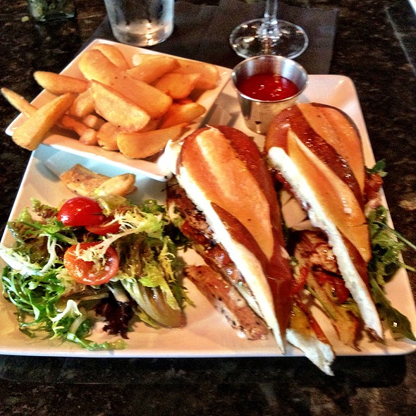 Tuna Sandwich - Lucille's, Houston, TX