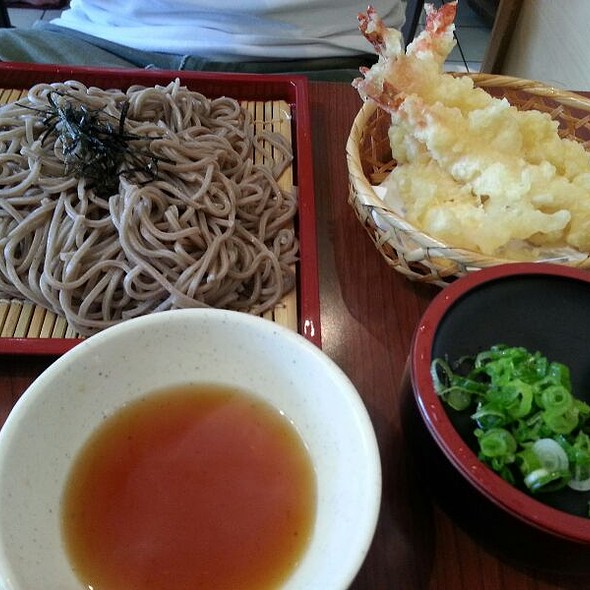 Ten Zaru Soba @ Takeya Sushi