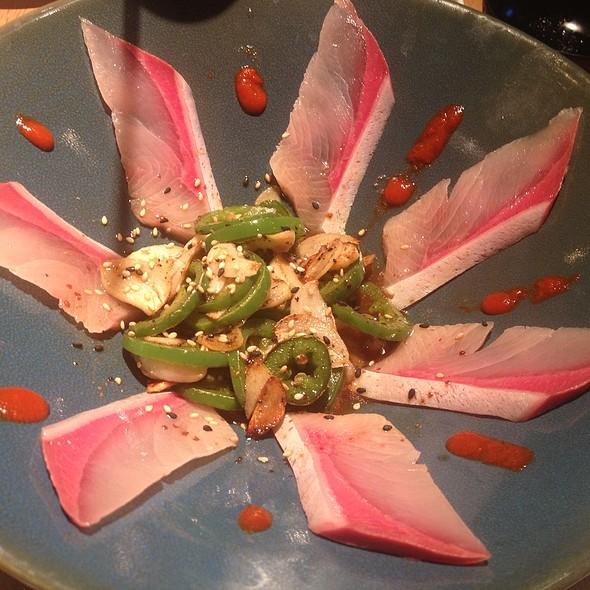 Yellowtail Sashimi with Jalapeno @ Sakana Japanese Sushi And Grill