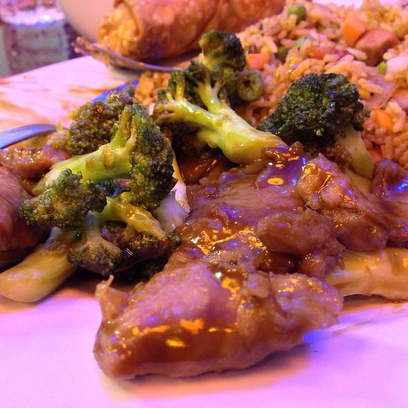 Beef With Broccori At China Kitchen