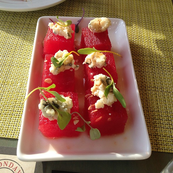 Compressed Watermelon  @ Bistro Joes