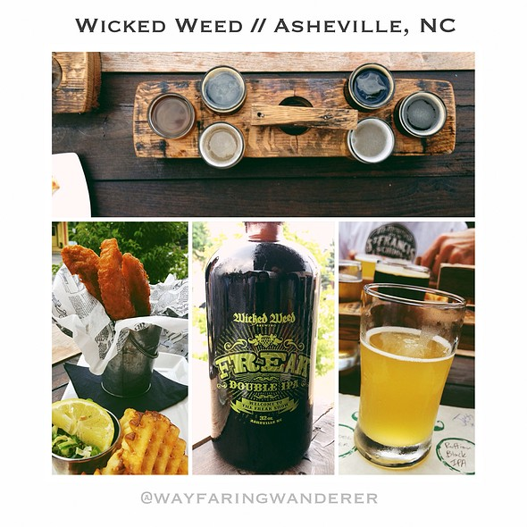 Fish & Chips @ Wicked Weed Brewing