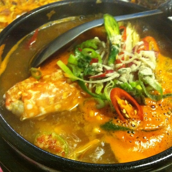 Seafood Chigae Soup @ Kim's Family Restaurant