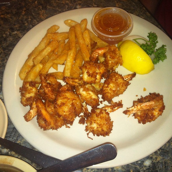 Coconut Shrimp @ Fish Net Family Restaurant