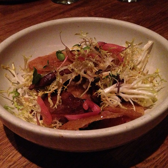 Braised Beef Tongue @ The Girl And The Goat