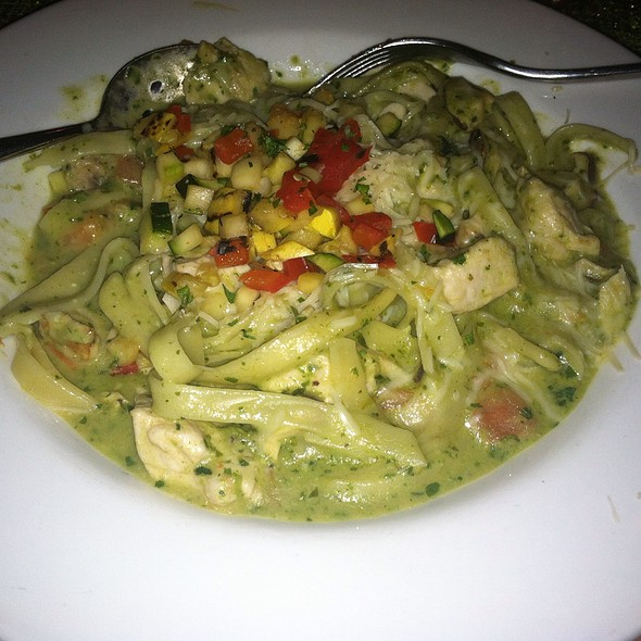 Seafood Fettuccine - Nanea Restaurant and Bar, Princeville, HI