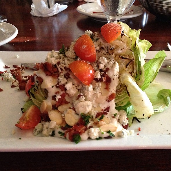 Grilled Wedge salad - The Tulip Bistro + Bar, Lexington, KY