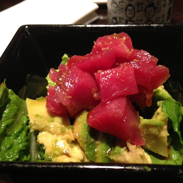 Maguro and Avocado