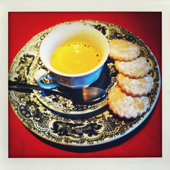 butter cookies @ Landa Palace Restaurante