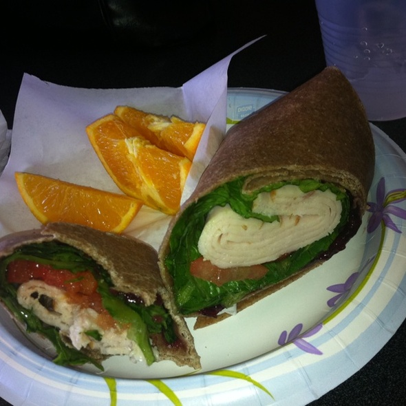Turkey, Cranberry, Walnut Wrap