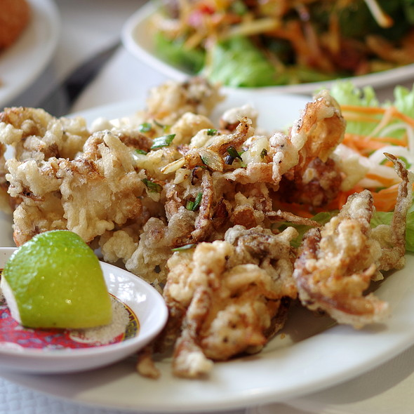 Soft Shell Crab @ Pho Quynh (Aux Délices d'Asie)