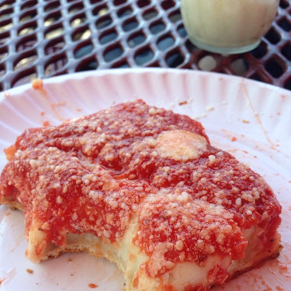Sicilian Pizza Slice