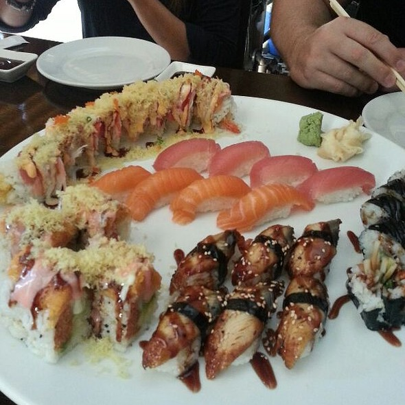 Assorted Sushi @ Sushi House