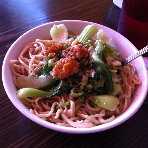 Dial Oil Hand Drawn Noodles @ Uncle Zhou