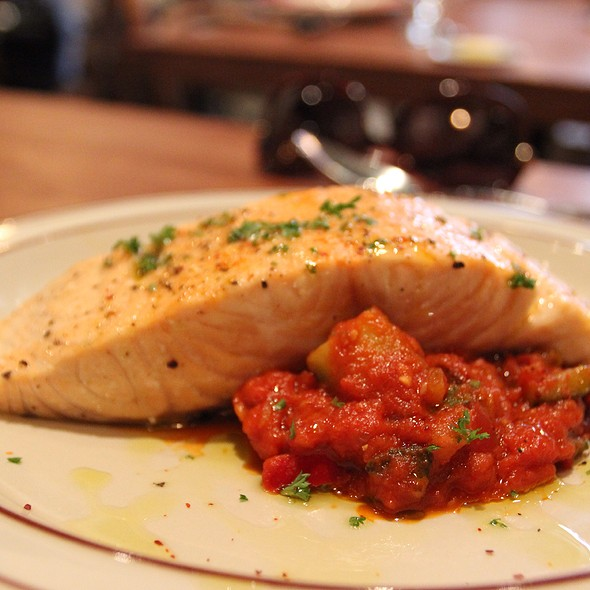 Salmon Provencal @ bistro du vin