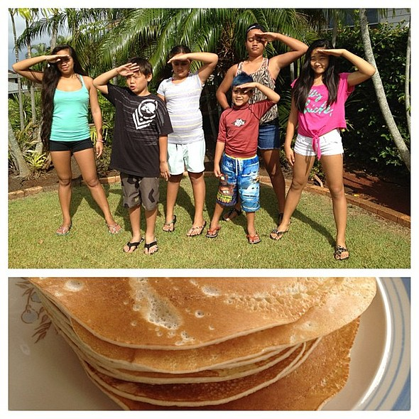 On the search for Papa's Pancakes! @ Papa & Tutu's Hale