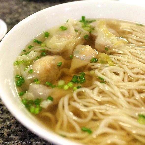 Wonton Noodle Soup @ Din Tai Fung (ติ่น ไท่ ฟง) 鼎泰豐