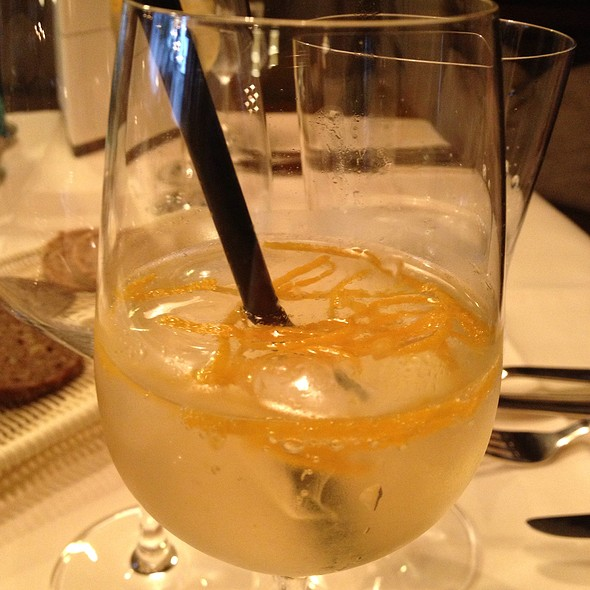 Sparkling Wine With Orange @ Landhaus Spatzenhof