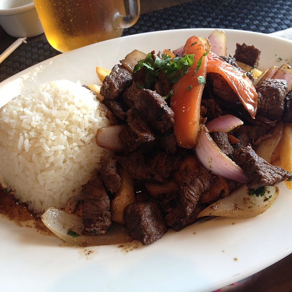 Peruvian Roasted Beef With Rice