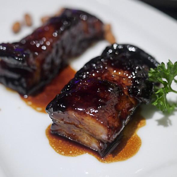 Bbq Pork Belly With Honey Sauce