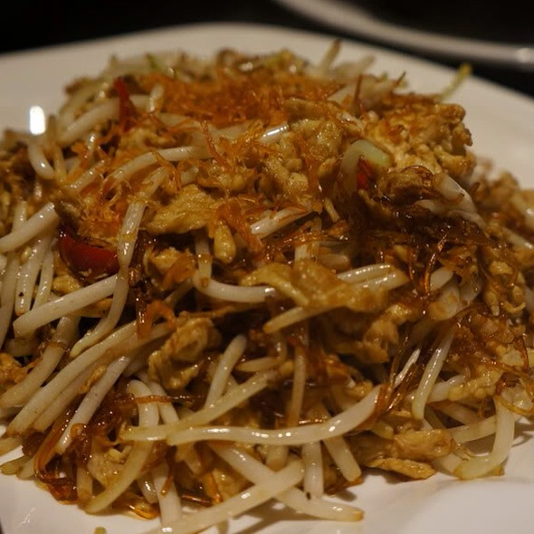 Wok Fried Bean Sprout With Vermicelli